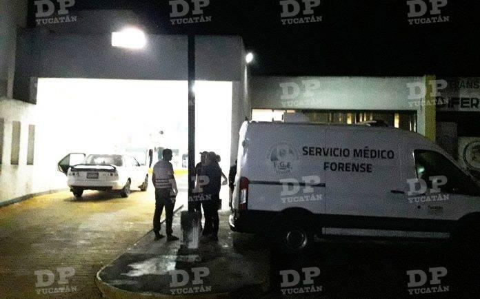 Un hombre fue trasladado moribundo al hospital San Carlos en Tizimín, donde finalmente falleció