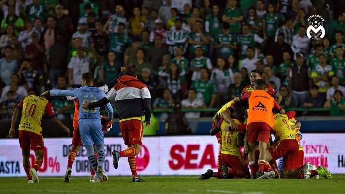Uno de los equipos sorpresa de la temporada, Monarcas Morelia