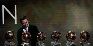12 años después de ganar su primer Balón de Oro, Messi gana su sexto, todo un récord