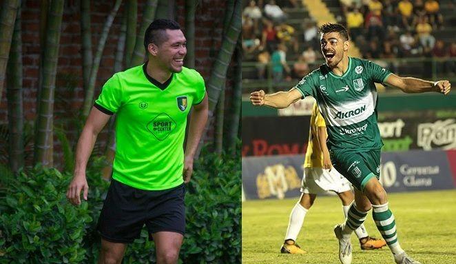 Freddy Martín (izq9 y Rodrigo Prieto vuelven a los Venados FC para aportarles su amplia experiencia