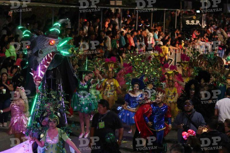 El Carnaval de Mérida en general ha tenido una buena asistencia