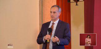 Dr. Hugo López-Gatell durante el reporte de este jueves