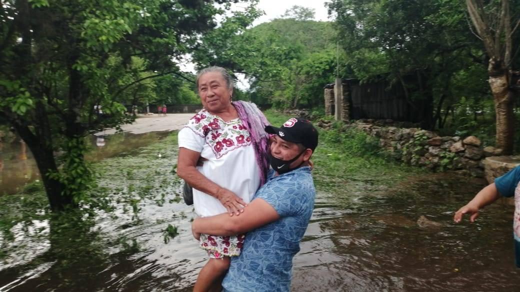 Rescate de abuelita en Kimbilá