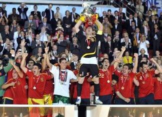 Al levantar la Copa del Mundo de 2010