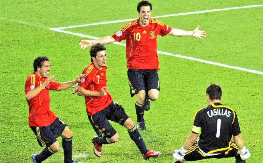 Al eliminar a la entonces vigente campeona del mundo, Italia, en cuartos de fina de la Euro 2008