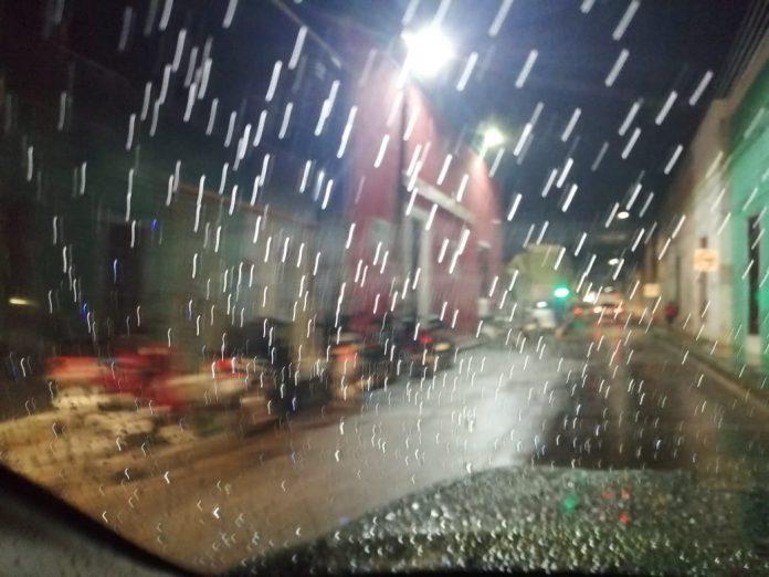 Desde este jueves por la noche comenzó a llover en Mérida y algunos otros puntos de Yucatán