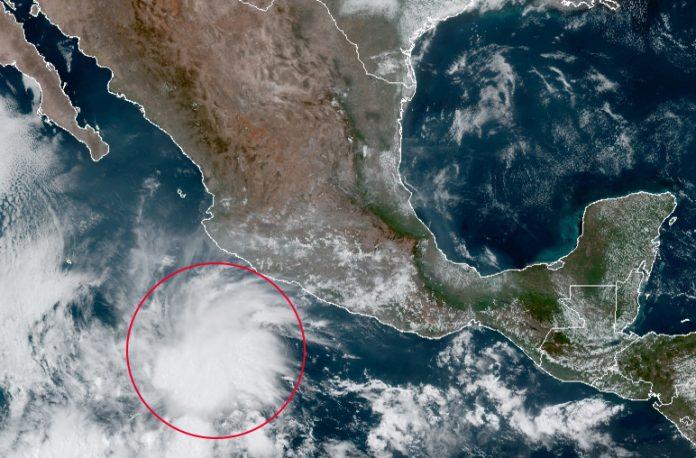 Se forma la tormenta tropical Andrés