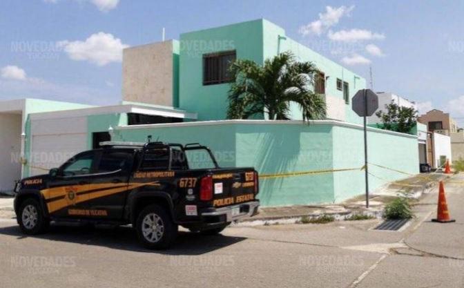 Fachada del predio de Las Américas donde los dos ya sentenciados ultimaron a su víctima y saquearon su casa