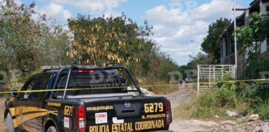 En esta brecha de El Porvenir fue hallado el cadáver