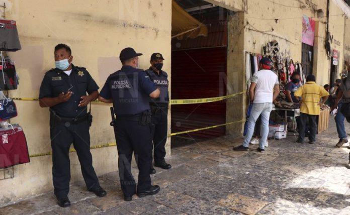 La pelea y tragedia ocurrió en un local comercial del Pasaje Yucatán en la calle 58 con 67 y 65. centro de Mérida